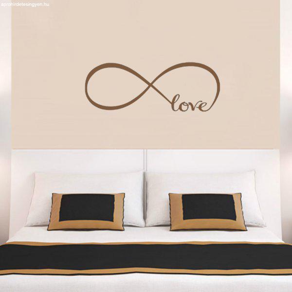 V%E9gtelen+szerelem+falmatrica+%2Fotthon+dekor%E1ci%F3