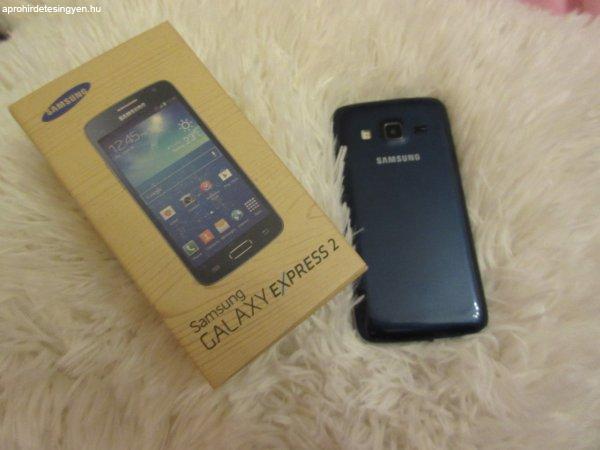 Samsung Galaxy Express 2 sötétkék hibátlan telefon + 6db tok - Eladó ... b03f51d963