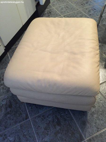 Őrületes Akció! Bőr Natuzzi sarok kanapé Kiárusítás! + Kiszá ...