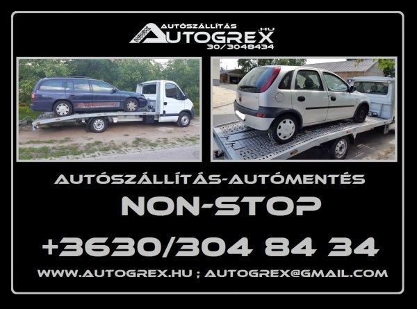 Autószállítás Belföldön és Külföldön!Non-Stop!