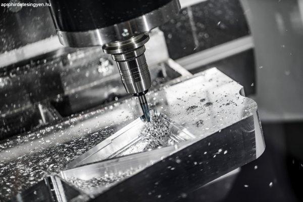 CNC forgácsoló, marós állások Németországban