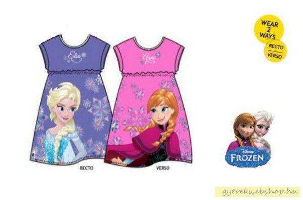 Frozen+%2CJ%E9gvar%E1zs+l%E1ny+k%E9t+oldalas+ruha+k%E9k+-lila