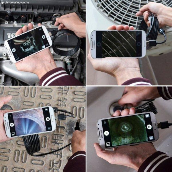 Endoszk%F3p+kamera+androidos+okostelefonokhoz+2+M%E9teres