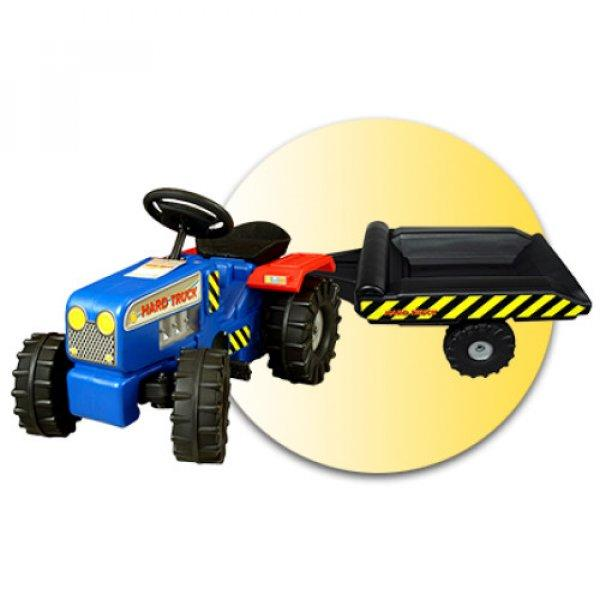 Inlea4Fun+Hard+Truck+ped%E1los+traktor+p%F3tkocsival