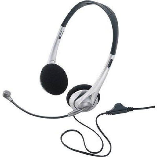 Sz%E1m%EDt%F3g%E9pes+headset+3%2C5+mm-es+jack+Vezet%E9kes%2C+Sztereo+Baset