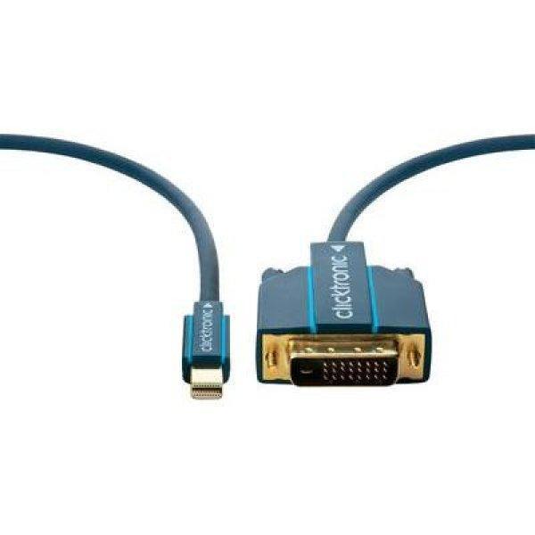 DisplayPort+csatlakoz%F3k%E1bel+%5B1x+mini+DisplayPort+dug%F3+-+1x+D