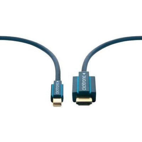 DisplayPort+%2F+HDMI+csatlakoz%F3k%E1bel+%5B1x+mini+DisplayPort+dug%F3