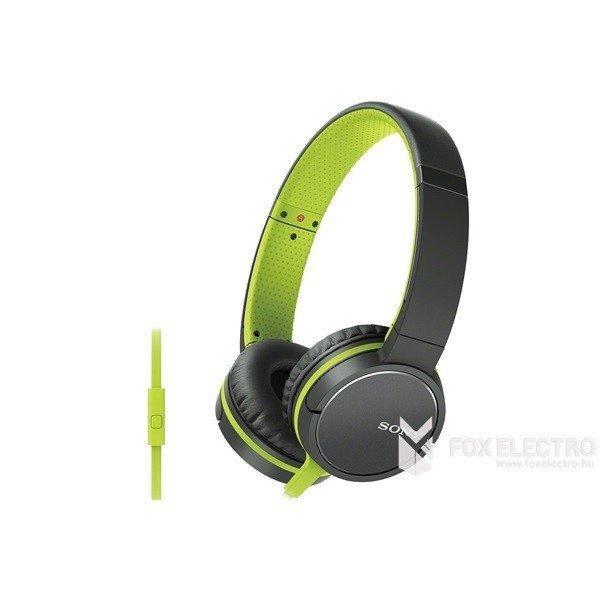 Sony+MDRZX660APG.CE7+z%F6ld+mikrofonos+fejhallgat%F3