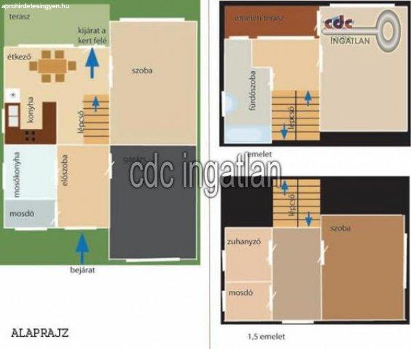 Elad%F3+180+nm-es+Csal%E1di+h%E1z+Budapest+II.+ker%FClet+Remetekertv