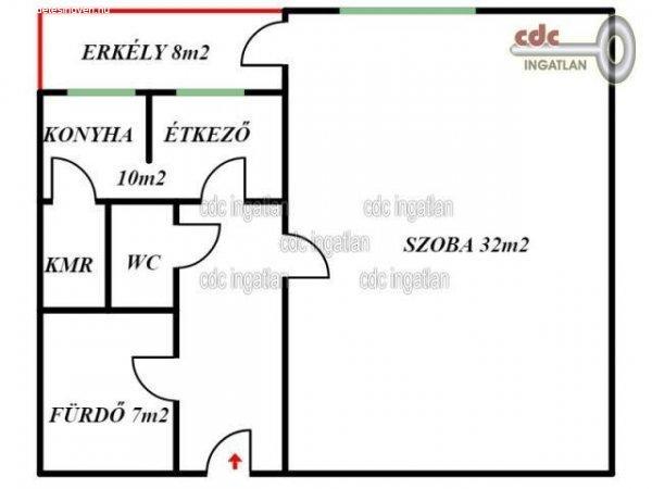 Elad%F3+53+nm-es+T%E9glalak%E1s+Budapest+XIV.+ker%FClet+Kiszugl%F3++K%F6