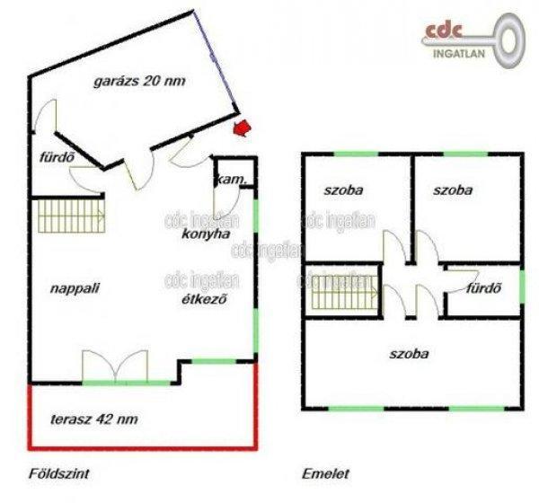 Elad%F3+121+nm-es+%DAjszer%FB+Ikerh%E1z+Budapest+XXI.+ker%FClet+Kir%E1ly