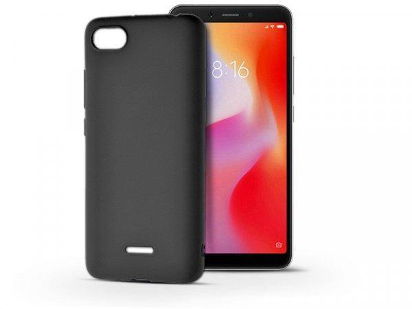 Xiaomi+Redmi+6A+szilikon+h%E1tlap+-+Soft+-+fekete