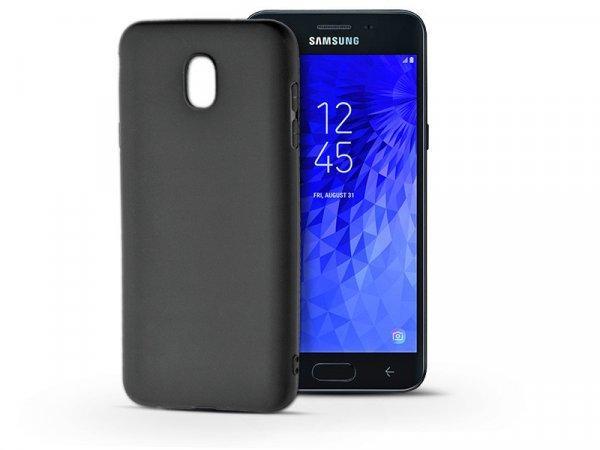 Samsung+Galaxy+J3+%282018%29+szilikon+h%E1tlap+-+Soft+-+fekete