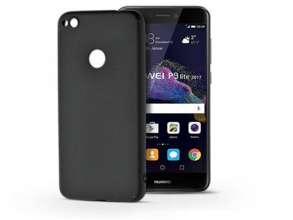 Huawei+P9+Lite+%282017%29+szilikon+h%E1tlap+-+Soft+-+fekete
