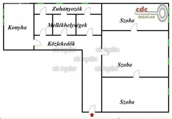 Elad%F3+84+nm-es+T%E9glalak%E1s+Budapest+I.+ker%FClet+V%E1ralja++D%F6bre