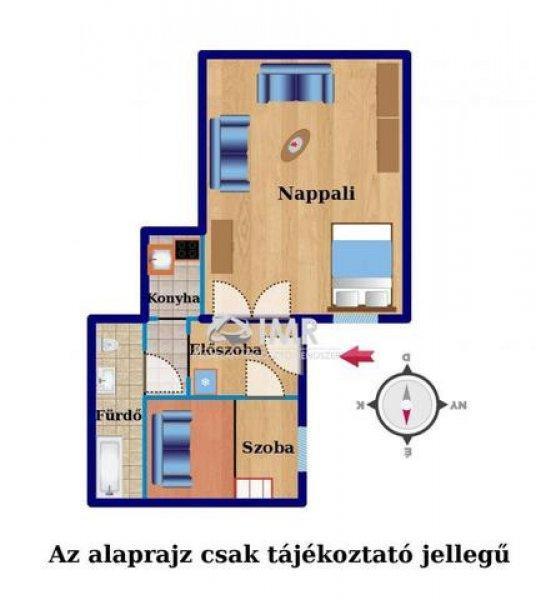 Elad%F3+51+nm-es+T%E9glalak%E1s+Budapest+VI.+ker%FClet+Csengery+utca