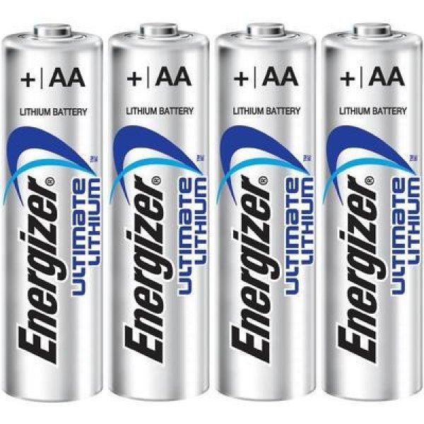 Ceruzaelem+L%EDtium+Energizer+Ultimate+LR06+3000+mAh+1.5+V+4+d