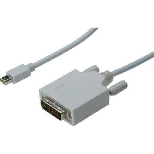 DisplayPort+%2F+DVI+csatlakoz%F3k%E1bel+%5B1x+mini+DisplayPort+dug%F3+