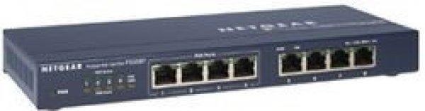 Netgear+ProSafe+8-Port+10%2F100%2C+4xPoE+SW+Metal+External+Power
