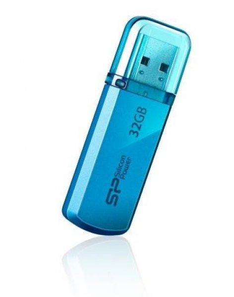 Silicon+Power+memory+USB+Helios+101+32GB+USB+2.0+Blue