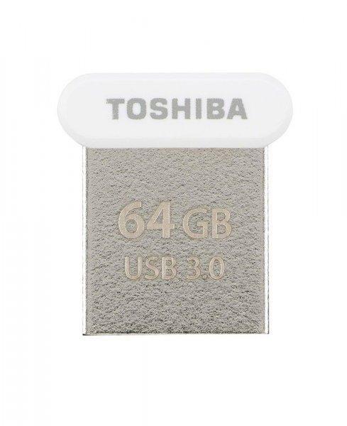 Toshiba+memory+USB+U364+64GB+USB+3.0+White
