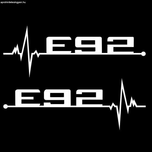 BMW+E92+Matrica+Szett