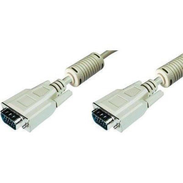 VGA+TV%2C+Monitor+csatlakoz%F3k%E1bel+1x+VGA+dug%F3+-+1x+VGA+dug%F3+15