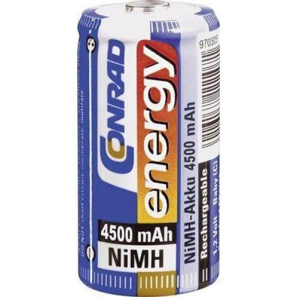 Baby+akku+C+NiMH%2C+1%2C2V+4500+mAh%2C+Conrad+Energy+LR14%2C+LR15%2C+C