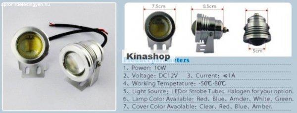 DRL+led-es+l%E1mpa+10w+12volt%2C+projector%2C+alu+h%E1z%2C+DRL+Kerek%2C+