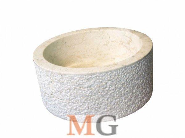 Mosd%F3kagyl%F3+term%E9szetes+k%F5b%F5l+-+MIRUM+509+%D840+cm+CREAM