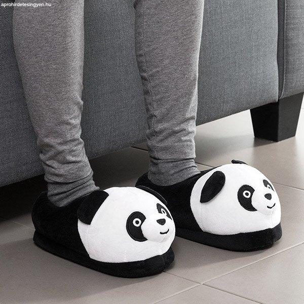 Bigbuy+Panda+Maci+Puha+Papucs+37-38