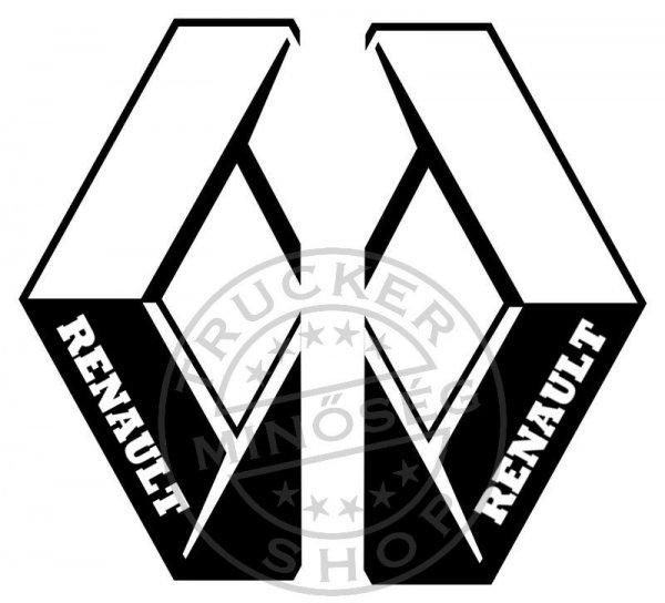 RENAULT+%F3ri%E1s+matrica+oldalra+p%E1rban+%28100x58cm%29