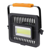 Erős fényű akkus LED reflektor, munkalámpa, szerelőlámpa. Cs