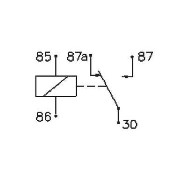 Autó relé 24 V/DC 1 váltó, 14 V/50 A / 28 V/20 A, Song Chuan