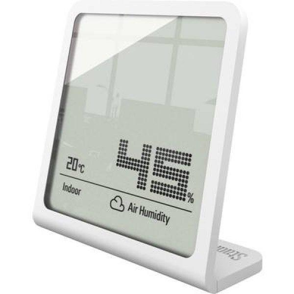 Digitális hőmérő és páratartalom mérő, fehér, Stadler Form 1