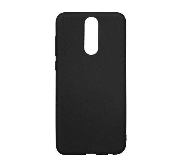 Forcell Soft szilikon hátlap tok Huawei P Smart, fekete