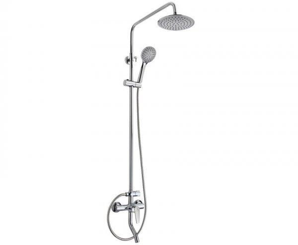 Mofém Zenit zuhanyrendszer, kádtöltő csapteleppel állítható