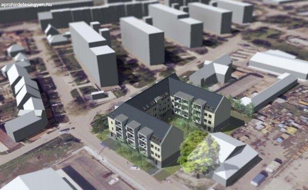 Lajosvárosi  új építésű lakóparki  98 es tetőtéri lakás elad