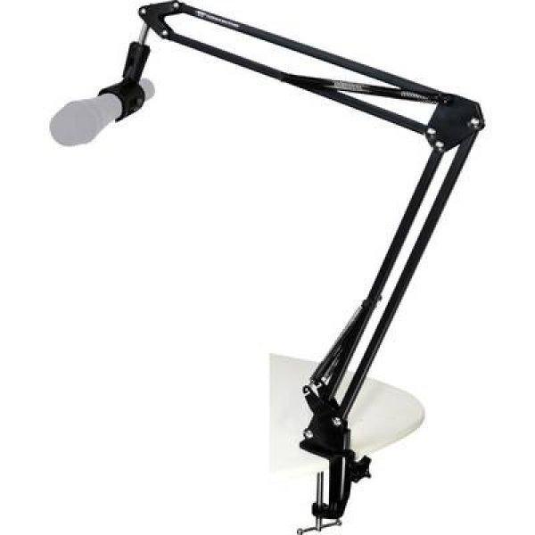 Asztali, hajlítható karos mikrofonállvány TIE Studio 19-9000