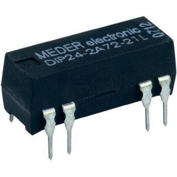 Reed relé Dual-in-line házban, DIO05-2A72-21L , 5 V/DC 0.5 A