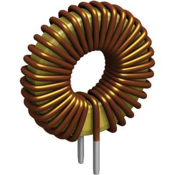 Gyűrűmagos fojtótekercs, radiális, RM 18 mm 10 ľH 10 A Fastr