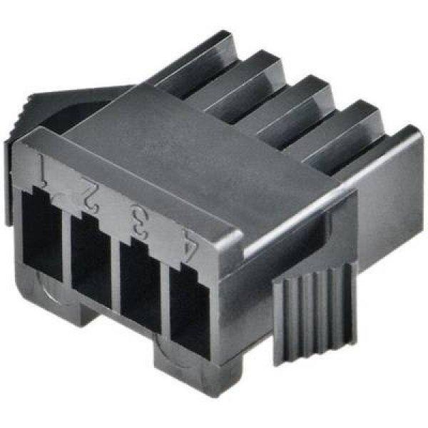 Hüvelyház kábel SM Pólusok száma 2 JST SMP-02V-BC Rasztermér