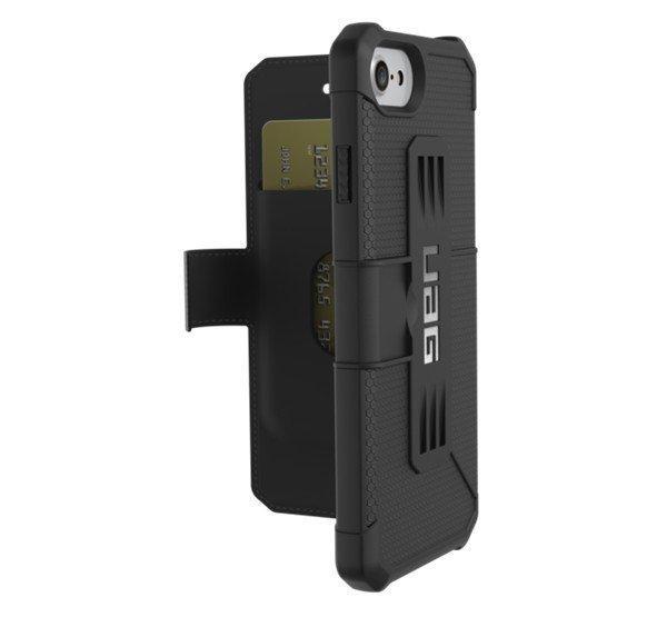 UAG Metropolis Apple iPhone 8/7/6s/6 flip tok, Black