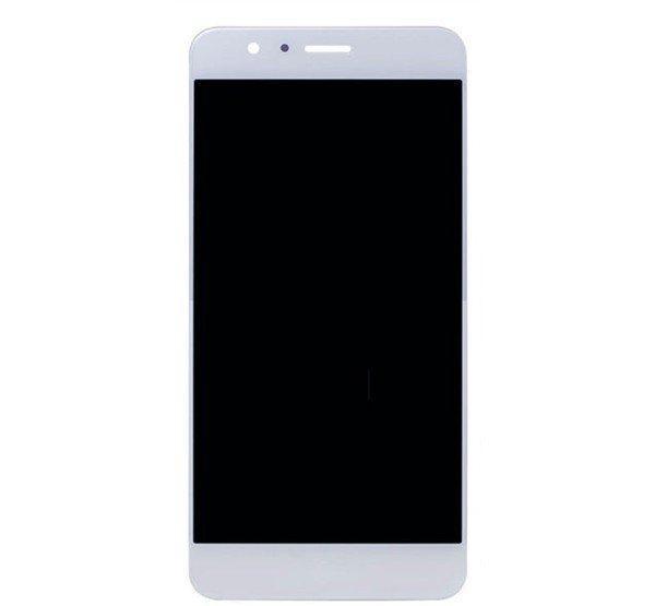 Honor 8 kompatibilis LCD modul kerettel, oem jellegűfehér