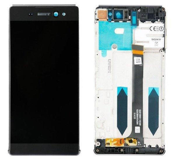 Sony Xperia XA Ultra kompatibilis LCD modul kerettel, OEM je
