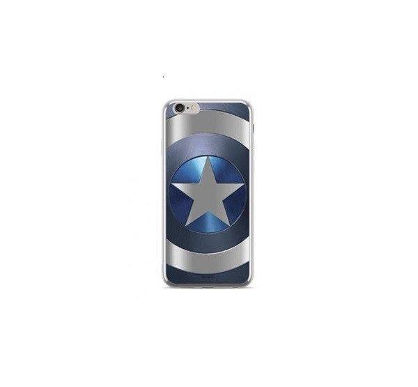 MARVEL Captain America hátlap tok Huawei P20 Pro, kék/ezüst