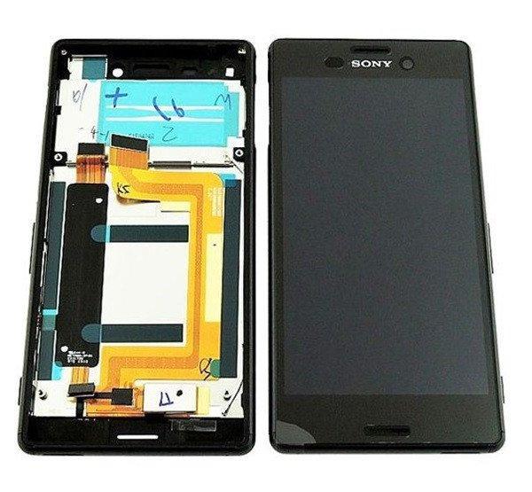 Sony Xperia M4 Aqua kompatibilis LCD modul kerettel, OEM jel