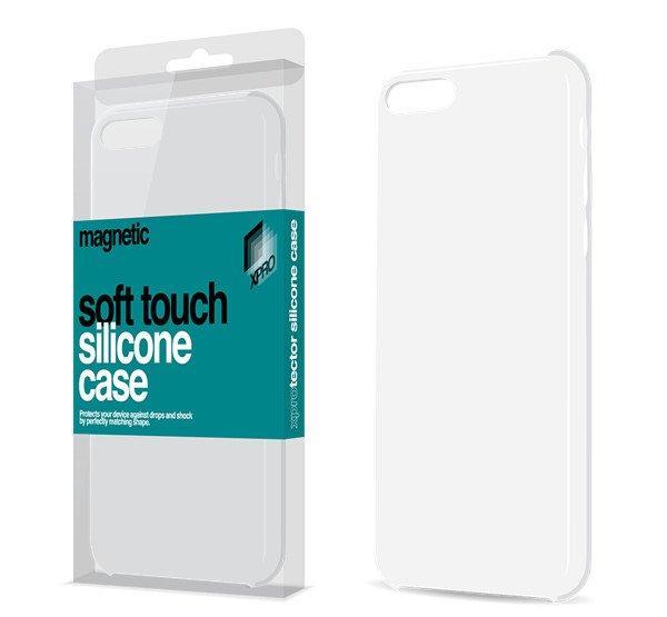 Xprotector Magnetic Soft Touch, szilikon hátlap tok (fémlapp