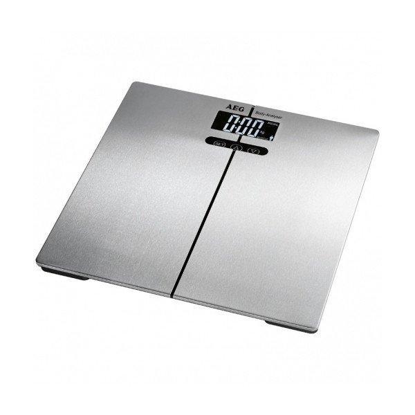 Aeg Digitális Fürdőszoba Mérleg Pw 5661 Fa 180 kg Ezüst szín