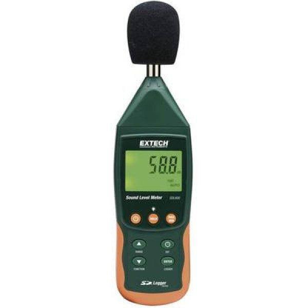 Digitális zajszintmérő, decibelmérő adatgyűjtővel 31.5 - 800